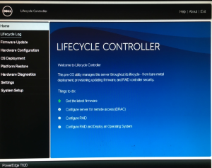 LifeCycle Controller